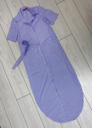 Платье-рубашка devant