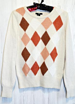 Очень мягенький и пушистый свитерок из ангорки фирмы h&m