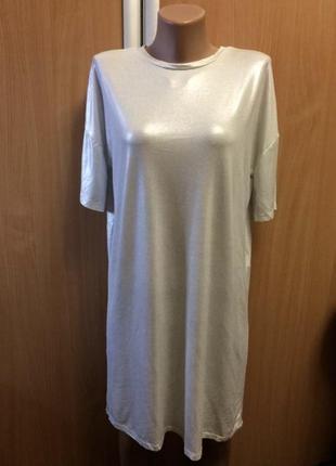Крутое свободное платье футболка с напылением zara10 фото