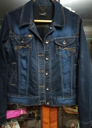 Джинсовый пиджак xl