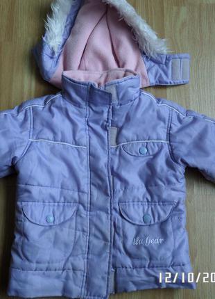 Gear 3-4 роки демісезонна куртка