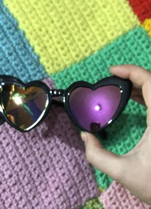 Солнцезащитные очки сердечки2 фото