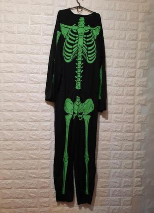 Карнавальный комбинезон скелетик, скелет, кощей