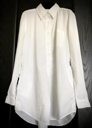 Дизайнерское платье -рубашка оверсайз,италия