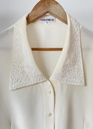 Вінтажна блузка windsmoor, актуальний комір