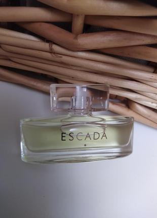 Escada signature/escada escada 2005, парфюмированная вода, миниатюра, 7,5  мл