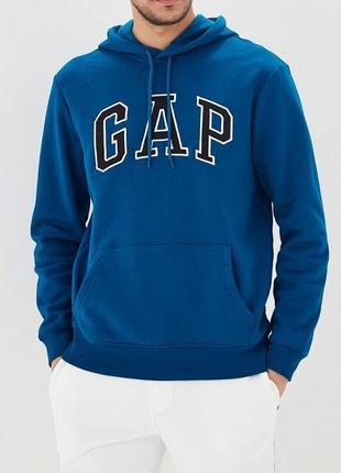 Gap оригинал классная толстовка худи с начесом размер м