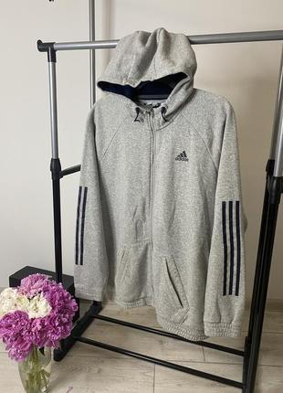 Adidas мужское зип-худи в новом состоянии толстовка