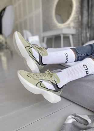 Кроссовки nike vista lite green 🌅 кроссовки, кросівки жіночі текстильні