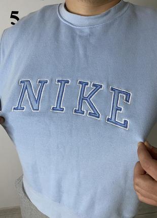 Свитшот nike vintage big logo большой логотип4 фото