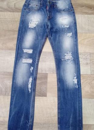 Dsquared крутые дизайнерские джинси известного бренда