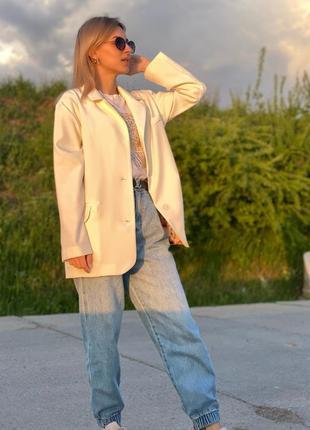 Пиджак женский на подкладке