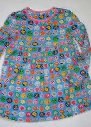 Фирменное мм платье девочке 3-4 лет хлопок