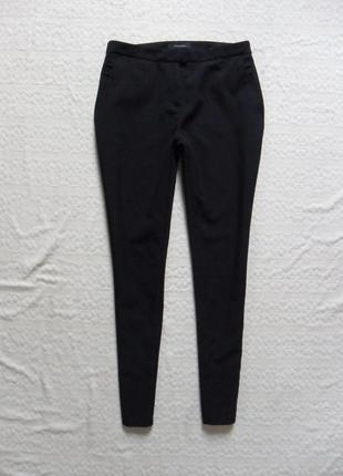 Стильные черные заужные брюки штаны скинни atmosphere, 10 размер.
