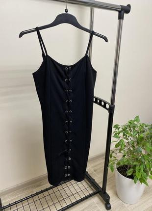 Платье-майка, шнуровка