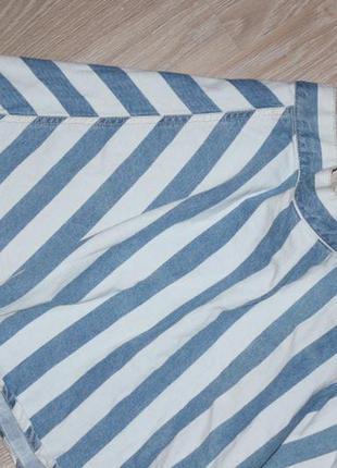 Джинсовая, полосатая юбка , вещи в наличии💚+скидки, заходите💚3 фото