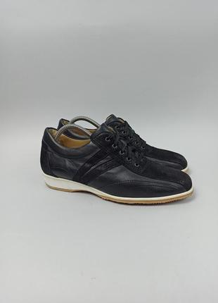 Кожаные туфли brunate italy (ручная работа) размер 42 (27 см.)