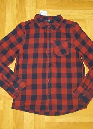 ❤️ новинка! крутая рубашка наа рост 134 см по бирке