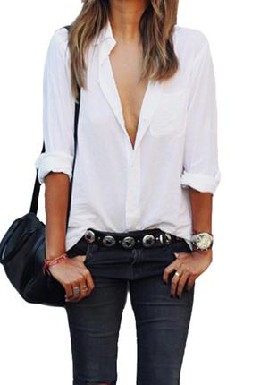Белая блузка —