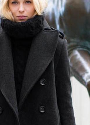 Пальто твидовое ,  очень стильное