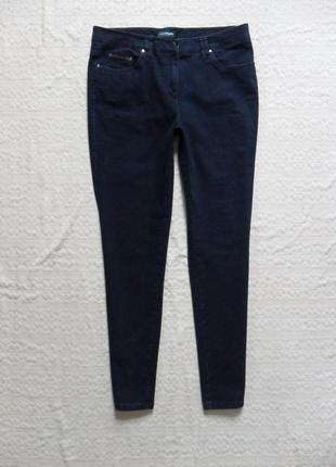 Плотные темно синие джинсы скинни charles vogele, 16 размер.