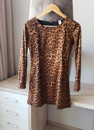 Плаття платье сукня леопард