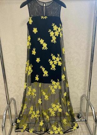 Невероятно красивенное платье, нарядное, люкс качество стамбул, размер л.