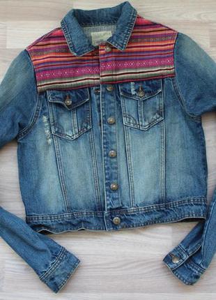 Джинсовая куртка brave soul 12 размер