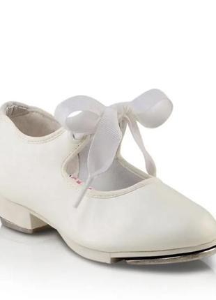 Туфли для танцев чечетки степовки capezio1 фото