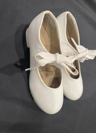 Туфли для танцев чечетки степовки capezio6 фото