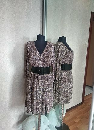 Сукня міді віскоза