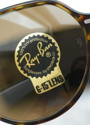 Солнцезащитные очки, окуляри ray-ban 2195, оригинал.8 фото