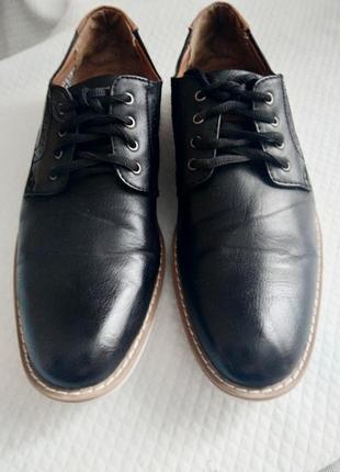 Мужские кожаные туфли city line