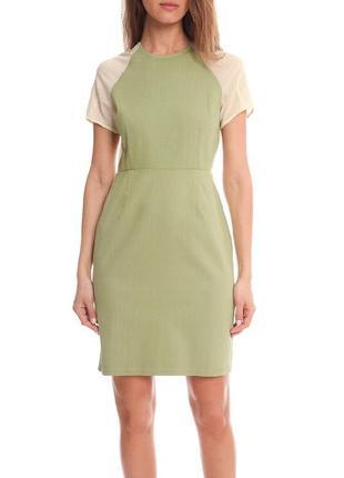 Acne брендовое хлопковое платье.