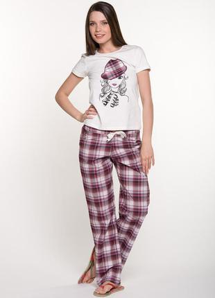 Пижама пижамные штаны домашние штаны