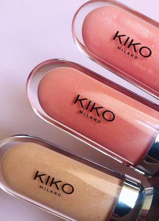 Блиск 3d hydra lipgloss від kiko milano