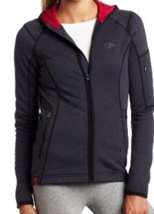 Icebreaker merino sierra full zip jacket куртка из флиса мериноса 260
