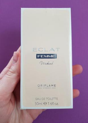 Туалетная вода oriflame eclat femme weekend