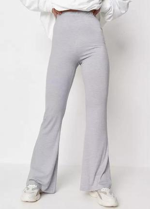 Женские штаны расклешенные