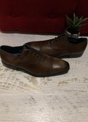Туфли из натуральной кожи кожаные san marina р. 42