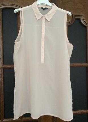 Блуза-рубашка. размер xs-s