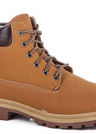 Полномерные ботинки в стиле timberland  41 размер