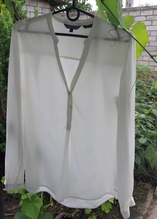 Блуза из натурального шелка tommy hilfiger