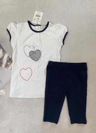 Набор футболка + шорты