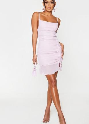 Новое летнее платье с бирками лиловое брендовое
