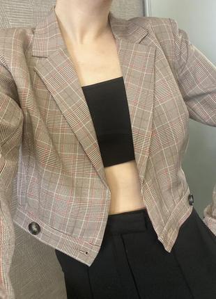 Идеальный укороченый пиджак