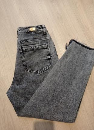 Мом джинсы серые ⚡⚡⚡💖