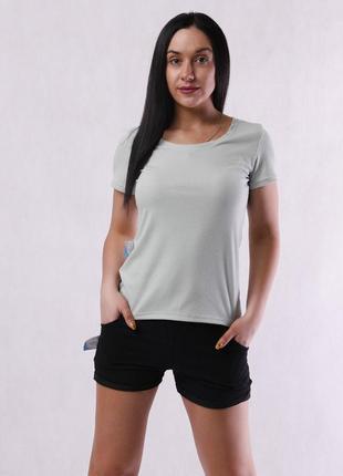 Женская летняя легкая футболка
