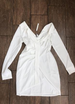 Новое летнее платье рубашка с бирками легкое
