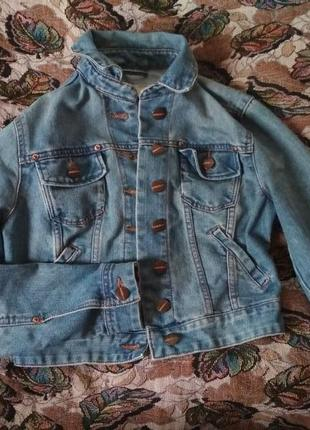 Укороченная джинсовка на лето